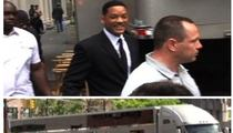 Will Smith's Megatrailer -- TOWED ... On Tape!