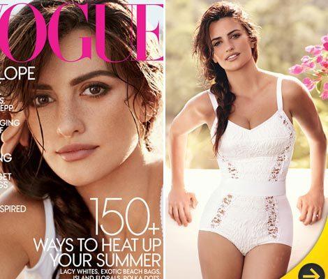 Penelope Cruz Flaunts Hot Body After Baby in Vogue