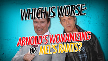 Arnold vs. Mel -- Who's the Baddest Bad Guy?