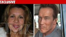Arnold's Baby Mama is On His Side