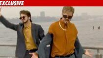 Timberlake Taping New 'Box' Skit for SNL