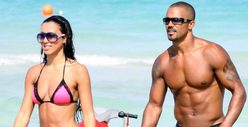 Shemar Moore &amp; GF -- &#039;Criminal&#039; Bodies