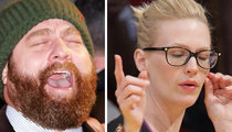 Zach Galifianakis SLAMS January Jones