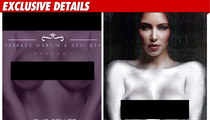 Kim K -- My Naked Breasts Have Been EXPLOITED!