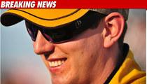 NASCAR Stud Kyle Busch Popped at 128 MPH