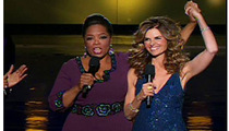 Oprah and Maria -- The Televised Shot At Arnold