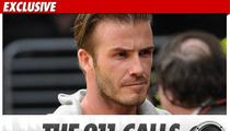 David Beckham -- 'Speeding Really Bad' Before Crash