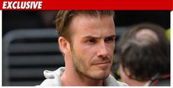 David Beckham -- &#039;Speeding Really Bad&#039; Before Crash