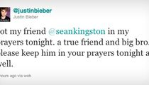 Justin Bieber Tweets Well Wishes to Pal Kingston