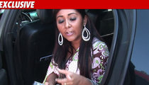 Snooki in Custody After Cop Car Crash