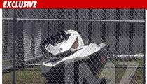 Sean Kingston's Damaged Jet Ski -- Missing Handlebar