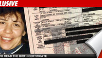Arnold's Baby Mama: I Didn't Lie On Birth Certificate!