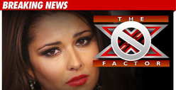 Cheryl Cole Gone From 'X Factor' -- FOREVER!!!