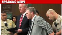Lenny Dykstra -- Handcuffed in Court, Held on $500K