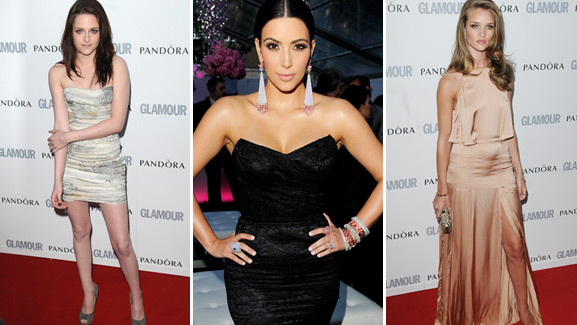 Hot Red Carpet: Glamour Women of the Year Awards