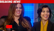 Khloe K -- MAJOR Nip Slip on 'Fox & Friends'