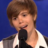 "Justin Bieber Look-alike Takes on ""The Glee Project"""