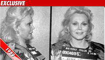 Zsa Zsa's Cop-Slapping Dress Hits Auction Block