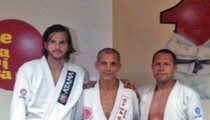Ashton Kutcher -- The Jiu-Jitsu Kid