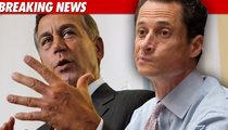 Boehner Tells Weiner to Evacuate Prematurely
