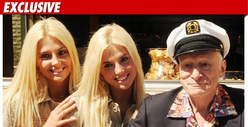 Playboy's Shannon Twins -- Movin' Back in with Hef