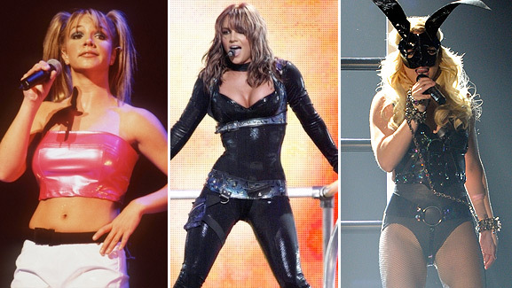Britney Spears' Tour Stars Tonight -- See Her Past Looks!