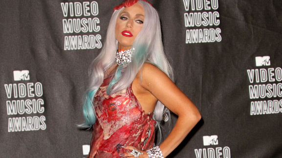 Lady Gaga's Meat Dress -- See What It Looks Like Now!