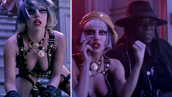 Lady Gaga's 'Edge of Glory' Video -- Watch It Now!