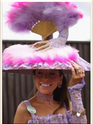 Royal Ascot Day 2 -- The Crazy Hat Train Rolls On!