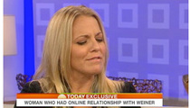 Weiner's Cyber Mistress on 'Today' -- 'I Don't Regret It'