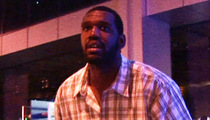 Former #1 Pick Greg Oden -- GIANT LeBron Mix-Up