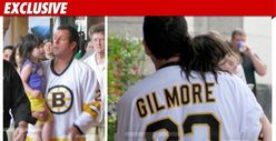 Adam Sandler -- Big Daddy in 'Happy Gilmore' Jersey