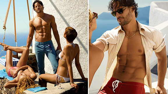 'True Blood' Stud Goes Shirtless for GQ