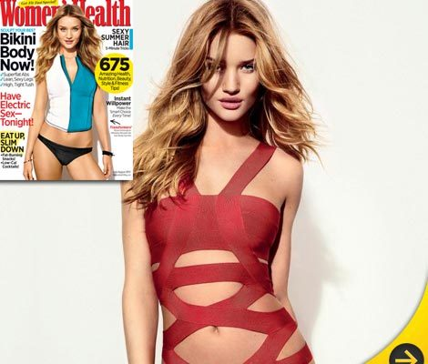 How Rosie Huntington-Whiteley Stays in Shape