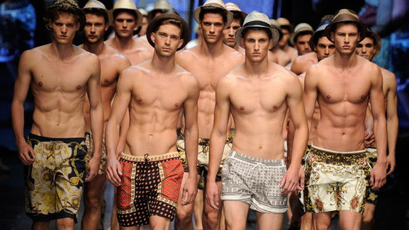 Male Model Madness -- Milan's Hottest Runway Stars!