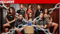 'Jersey Shore' Cast -- Under QUARANTINE in Seaside