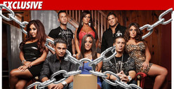 &#039;Jersey Shore&#039; Cast -- Under QUARANTINE in Seaside