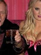 Hugh Hefner Steps Out with New Playmate
