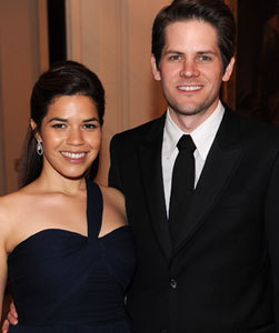'Ugly Betty' Star America Ferrera Weds!