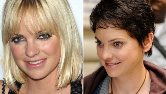 Anna Faris Debuts Short, Brunette 'Do!
