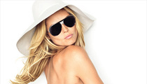 Heidi Klum Goes Topless for Glamour, Talks Lingerie
