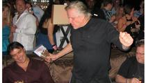 Gary Busey Celebrates Birthday in Vegas Nightclub