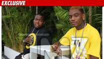 Sean Kingston -- First Photo After Leaving Hospital