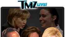 TMZ Live: Harvey Attacks Nancy, Joan Attacks Harvey