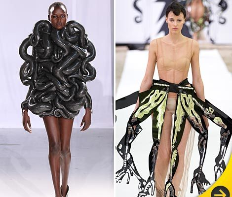 Photos: Paris Fashion Week's Weirdest Looks