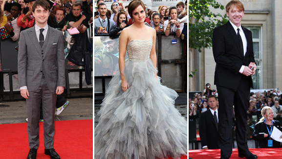 Emma Watson Stuns at 'Deathly Hallows Part 2' Premiere!