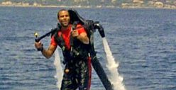 Tony Parker -- INSANE $5,000 Jet Pack Ride