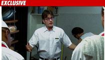 Charlie Sheen -- Fast Food Boss ... for Friend's Video