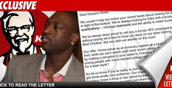 KFC to Dwyane Wade: The Colonel Wants You Back!