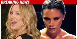 Kate Hudson & Victoria Beckham Give Birth